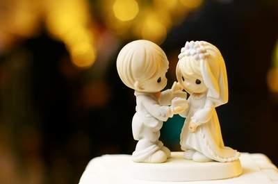 Noivinhos do topo do bolo de casamento: 6 modelos e estilos diferentes para sua escolha