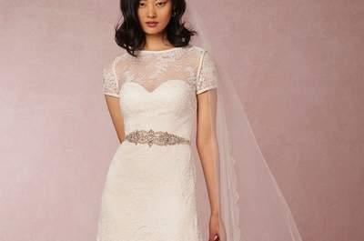Los vestidos de novia de BHLDN: Modelos encantadores que te harán suspirar