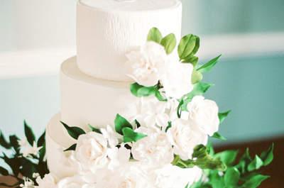 43 Bolos de casamento com flores: naturais ou de açúcar elas chegam arrasando em 2017!