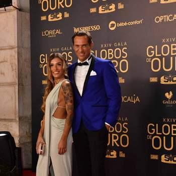 José Carlos Pereira e a namorada | Foto Divulgação