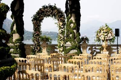 Свадьба на озере Комо: сказка Даши и Леши