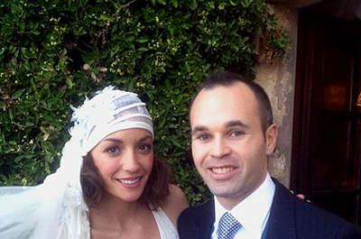 Le mariage du footballeur Andrés Iniesta
