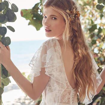 Rebecca Ingram. Kleid: Rubena