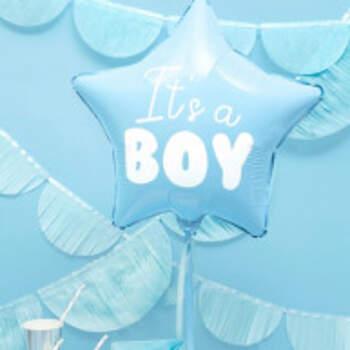 Ballon Étoile It's A Boy - The Wedding Shop !