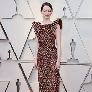 Emma Stone vestida de Louis Vuitton/ Cordon Press
