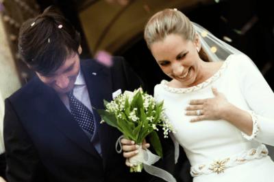 Mariage de María Luisa et Andrés au Parador de Cádiz