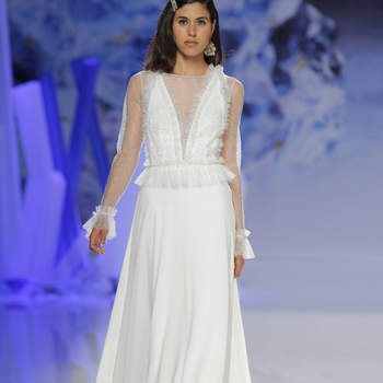 Inmaculada García. Credits: Barcelona Bridal Fashion Week
