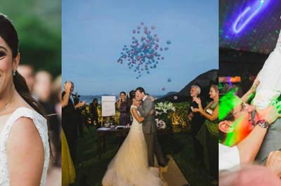 Caroline & Francisco: Casamento rústico ao ar livre com a bênção do Cristo Redentor!