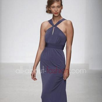 Robe de mariée violette Amsale 2013