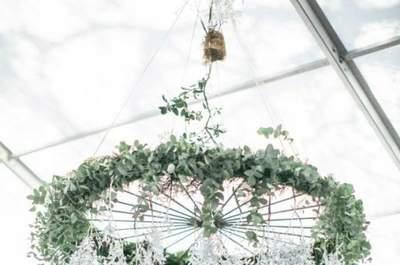 Decoración de boda estilo industrial 2017. ¡Las ideas más TOP!
