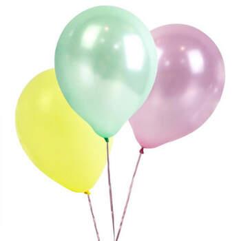 Globos colores pastel 16 unidades - Compra en The Wedding Shop