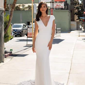 Créditos: Pronovias Cruise 2021 | Modelo do vestido: Peters