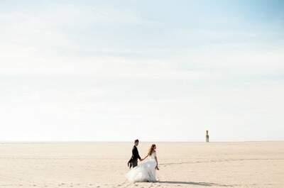 Chegou o verão! Casar na praia: o que NÃO convém que faça