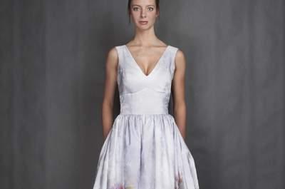 Najpiękniejsza suknia ślubna na wiosnę 2014 roku - wybór Zankyou