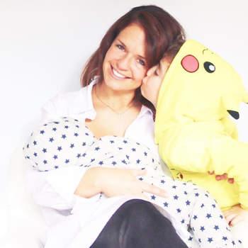 A atriz Madalena Brandão foi mãe pela segunda vez em 2017. José nasceu no mês de outubro. Foto Instagram Madalena Brandão