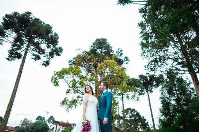 Casamento no sítio de Rayane & Rodrigo: boho chic romântico e personalizado!