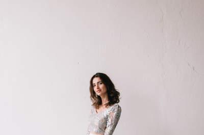 Robes de mariée Aurélia Hoang 2018 : une collection en