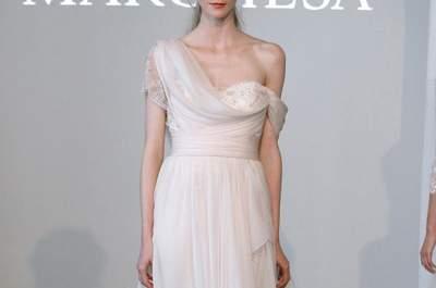Las tendencias top en vestidos de novia 2015 desde la NY Bridal Week