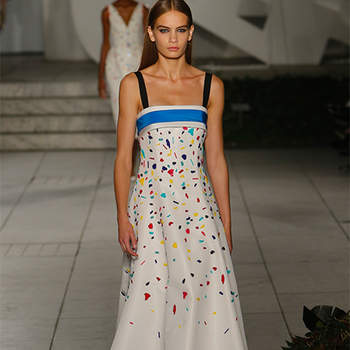 New York Fashion Week S/S 2018. Credits: Carolina Herrera