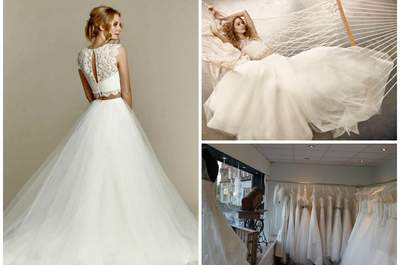 Epernay Bridal featuring Hayley Paige