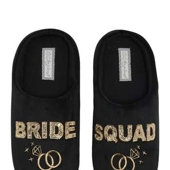 Chinelos de quarto Bride Squad -preço sob consulta