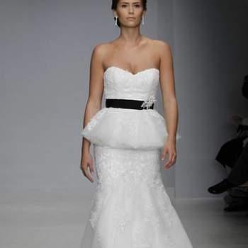 Os vestidos de noiva têm ganhado versões cada vez mais modernas, que atendem todos os estilos. Um modelo que vêm conquistando noivas e é tendência para 2013 são os Peplums. Inspire-se nestes modelos!
