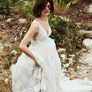 Photo : Justin Alexander - robe Bianca