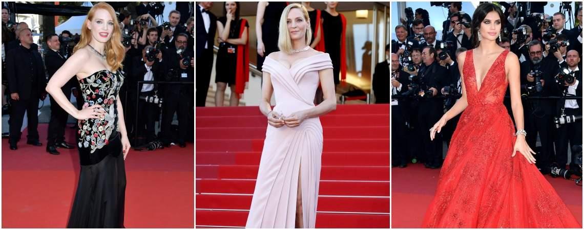 Festiwal w Cannes 2017: nie przegap najlepszych strojów z czerwonego dywanu!