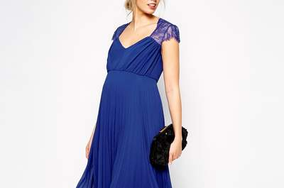 Notre sélection des 50 plus belles robes pour les invitées attendant un heureux événement !