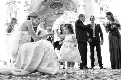 Bimbi e galateo: i migliori momenti dei più piccoli ai matrimoni