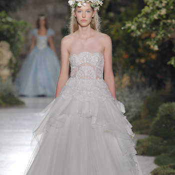 Reem Acra. Créditos: Barcleona Bridal Fashion Week