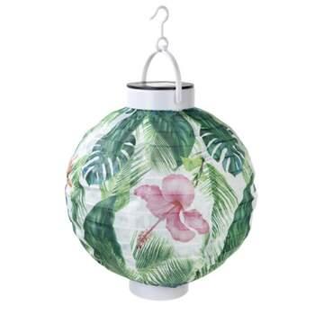 Lanterne à énergie solaire tropicale - The Wedding Shop