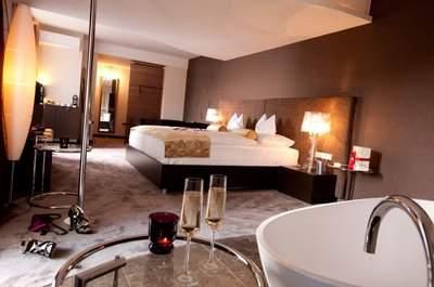 Ein unvergessliches Erlebnis für die Hochzeitsnacht – die Honeymoon-Suite