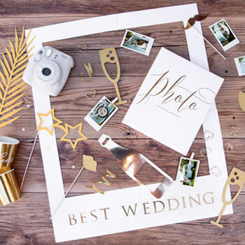 Atrezzo Photocall Lujo 8 Unidades- Compra en The Wedding Shop