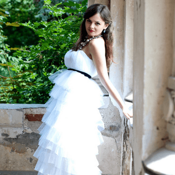 Princess Maria (Foto: http://www.etsy.com/listing/103664905/ruffle-layers-wedding-dress-tulle-and)