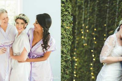 Ingrid & Elias: casamento ao ar livre encantador no Rio de Janeiro!