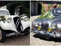 Des voitures de prestige pour un mariage vintage avec Location Rétro mariage