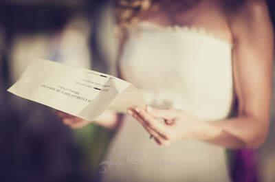 ¿Por qué te casas? Haz una lista antes de la boda