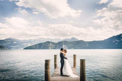 Unvergessliche Hochzeit in Weggis – Gespickt mit humorvollen & zauberhaften Details