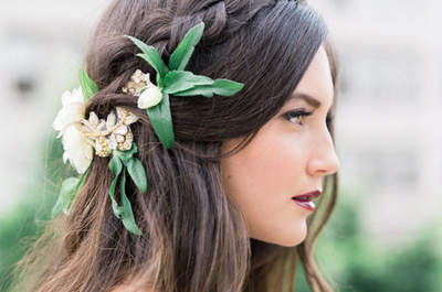 Peinados de novia con trenzas. ¡La tendencia que siempre triunfa!