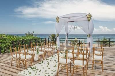 Los 20 mejores hoteles para bodas en Cancún y la Riviera Maya: ¡Cásate en el caribe mexicano!