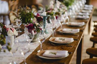 Centros de mesa para casamento: as últimas tendências!