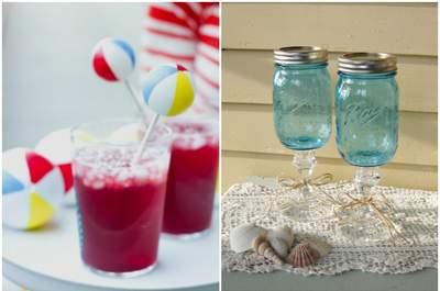 Des idées amusantes pour décorer vos cocktails à votre mariage