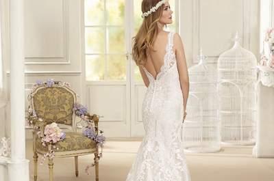 Vestidos de novia estilo vintage: ¡rememora el romanticismo e inspírate en estos diseños!