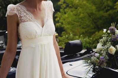 ¿Cómo elegir el vestido de novia si estoy embarazada?