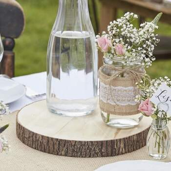 Bûche En Bois Artificiel - The Wedding Shop !