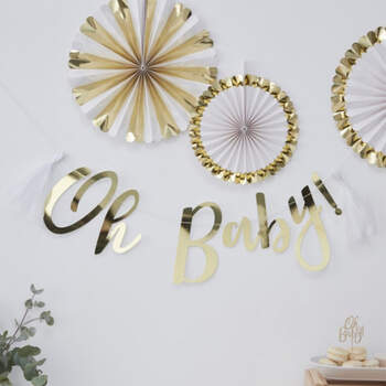 Guirlanda Inscripción Oh Baby- Compra en The Wedding Shop