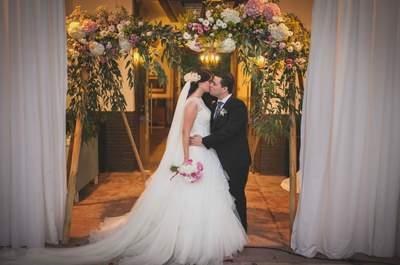 Una noche, sin duda, mágica: la boda de Marta y Óscar