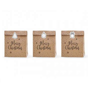 Bolsa de regalo Merry Christmas 3 PIEZAS- Compra en The Wedding Shop