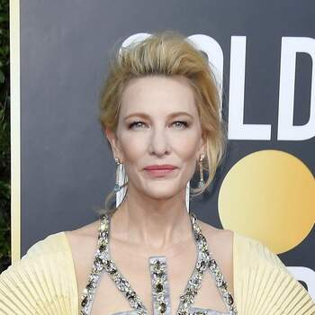 Cate Blanchett arrives at the 77th Golden Globe Awards held at The Beverly Hilton Hotel on January 5, 2020 in Beverly Hills, CA. (Photo by Sthanlee B. Mirador/Sipa USA) *** Local Caption *** 28610317